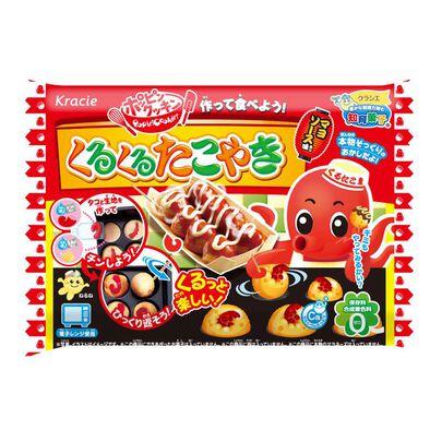 Kracie Foods 知育果子系列 食玩diy章魚丸套餐