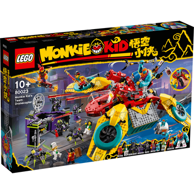 LEGO Monkie Kid Monkie Kid's Team Dronecopter - 80023