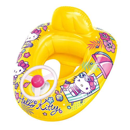 Sanrio三麗鷗hello Kitty太陽傘造型橡皮艇