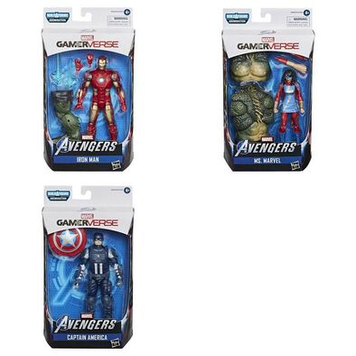 Marvel漫威傳奇系列 電視遊戲人物系列 - 隨機發貨