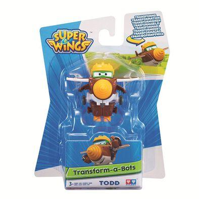Super Wings超級飛俠 變形公仔 Todd