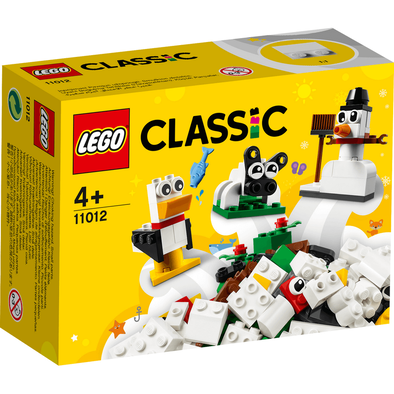 LEGO Classic Creative White Bricks 11012