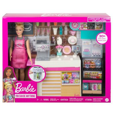 Barbie Coffee Playset