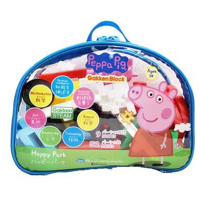 Peepa Pig Gakken Block (Happy Park)