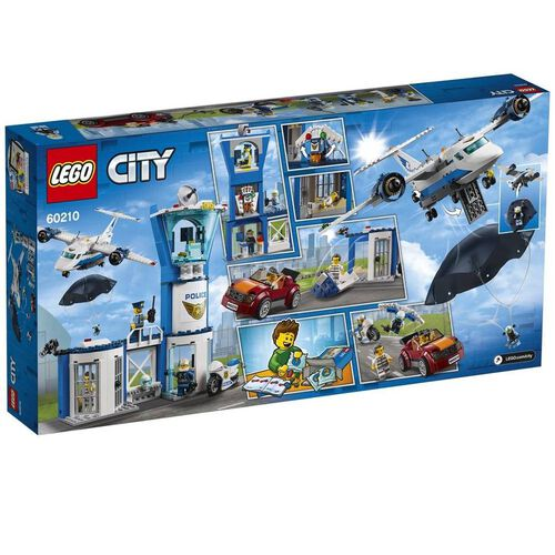 LEGO樂高城市系列 空中警察航空指揮中心 60210