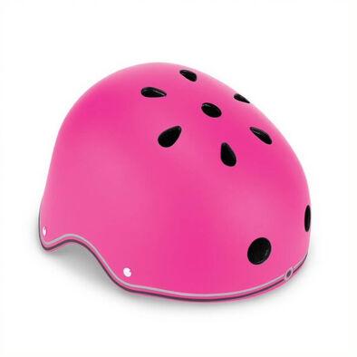Globber Primo Helmet Lights Neon Pink