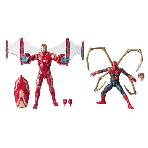 Marvel Avengers漫威復仇者聯盟 鐵甲奇俠 Mark 50 和 鐵甲蜘蛛俠