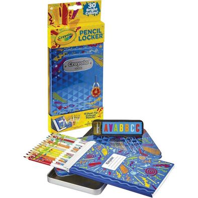 Crayola繪兒樂 30 色木顏色筆連收納盒