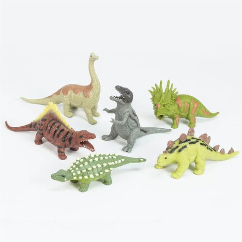 Animal Zone動物叢林 迷你軟膠恐龍 - 隨機發貨