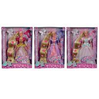 Steffi Love & Evi Love 長髮公主造型系列 - 隨機發貨