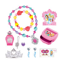 DISNEY PRINCESS 公主手飾連皇冠盒套裝