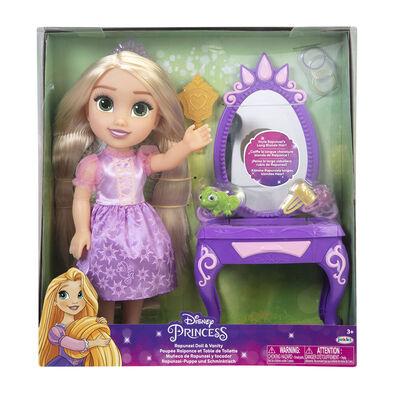 Disney Princess迪士尼公主 長髮公主連化妝檯系列