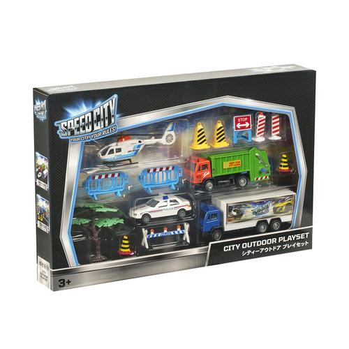 Speed City極速都市 大都市室外玩具套裝