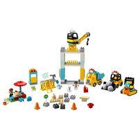 LEGO Duplo 塔吊機和建築工地 10933