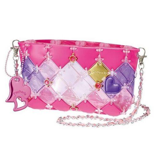 Beverly Pacherie 時尚巧拼包 - Diy粉紅透明筆袋