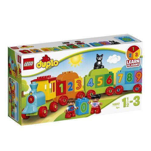 LEGO樂高得寶系列數字火車 10847