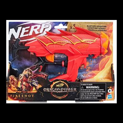 NERF熱火神龍威力火焰彈鏢發射器
