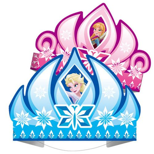 Disney Frozen迪士尼魔雪奇緣 紙皇冠帽