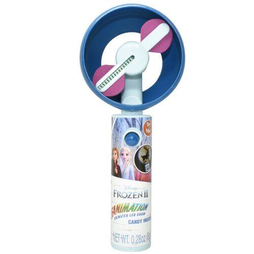 Disney Frozen迪士尼魔雪奇緣 2 動感風扇連糖果8克