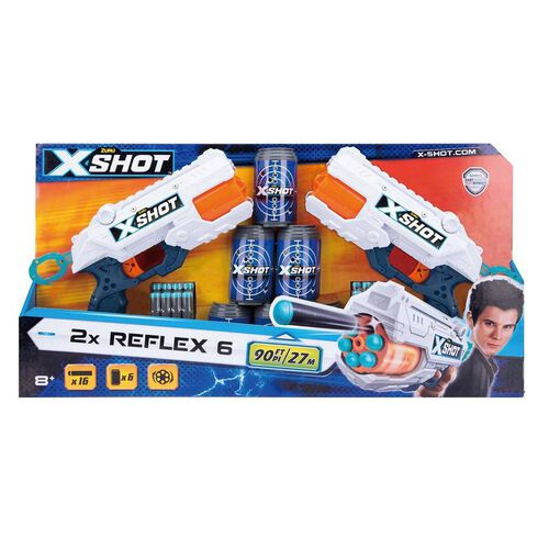 Zuru X特攻 Reflex Revolver Tk 6 孖裝