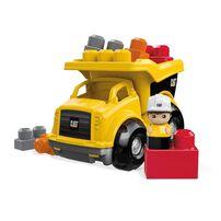 Mega Bloks美高積木 Caterpillar垃圾車積木