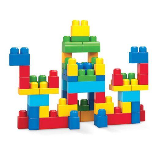 Mega Bloks美高積木first Builders系列60件大塊積木套裝