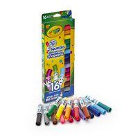 Crayola繪兒樂 16色可擦彩色筆