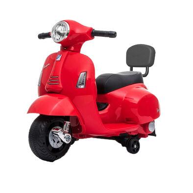Vespa偉士 兒童電動迷你綿羊仔電單車-紅色