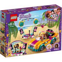LEGO樂高好朋友系列 Andrea房車與表演台 41390