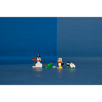 LEGO樂高經典系列 創意白色顆粒 11012