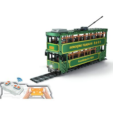 Konsept Rc 1:18 Block Hk Tram (With App Control)