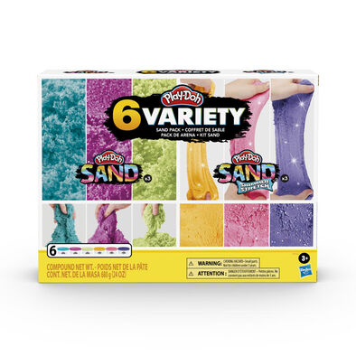 Play-Doh Sand Variety 6-Pack