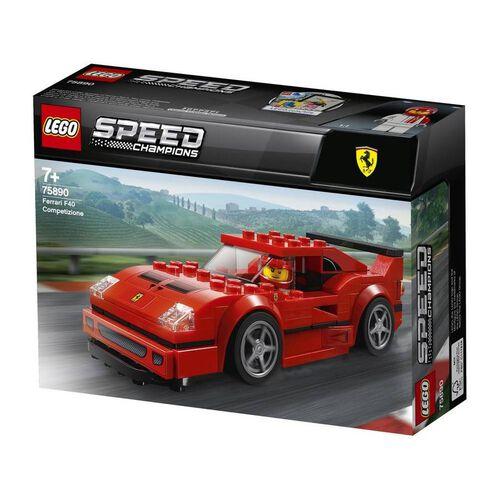 LEGO樂高超級賽車系列 LEGO Speed Champions Ferrari F40 Competizione 75890