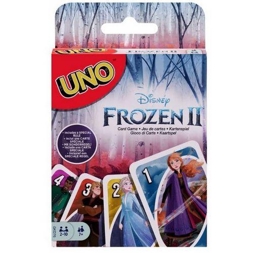 Mattel Games美泰兒遊戲uno遊戲咭 Frozen 2