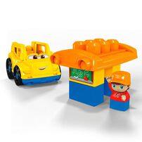 Mega Bloks美高積木first Builders系列校車積木