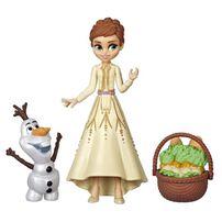 Disney Frozen迪士尼魔雪奇緣 2 Q版公主玩偶與朋友系列 - 隨機發貨