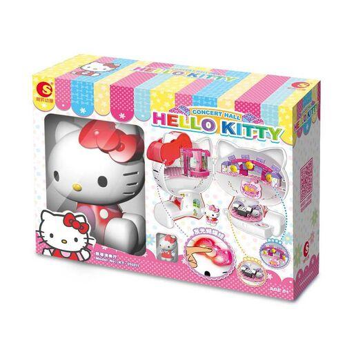 Hello Kitty吉蒂貓 積木系列 - 發光蝴蝶結音樂會