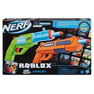 NERF熱火 Roblox系列 Jail Break Armory 孖裝發射器