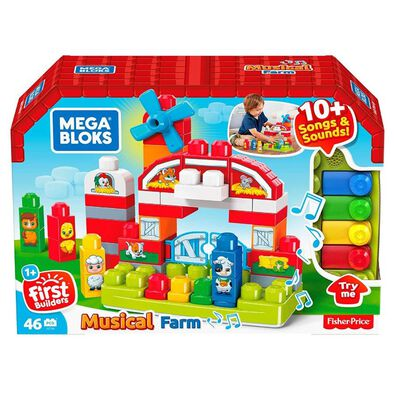 Mega Bloks First Builders Musical Farm