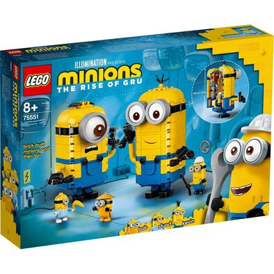 LEGO樂高迷你兵團系列 LEGO Minions: Brick-Built Minions And Their Lair 75551