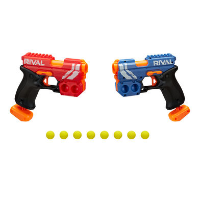 NERF Rival Clash Pack -Includes 2 NERF Rival Blasters And 8 Official NERF Rival High-Impact Rounds