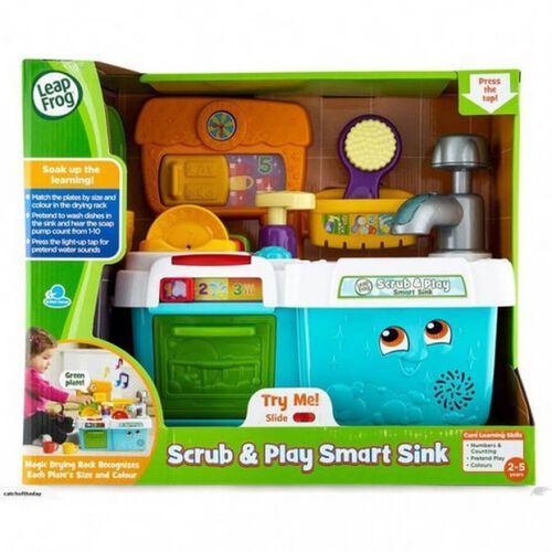 LeapFrog跳跳蛙 醒目發聲洗碗槽廚具套裝