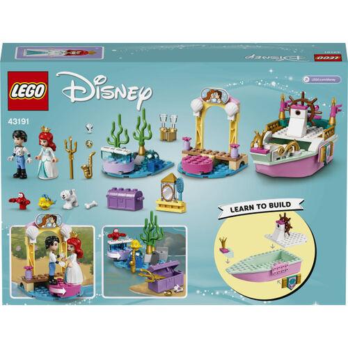 LEGO樂高迪士尼公主系列 Ariel的慶典小船 - 43191