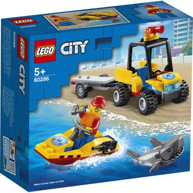 LEGO樂高城市系列 海灘救援 ATV - 60286