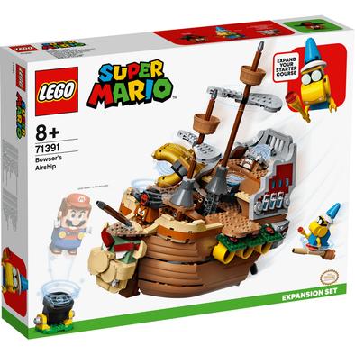 LEGO樂高 Bowser's Airship 擴展版圖 71391