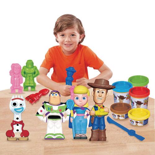 Cra-Z-Art Toy Story反斗奇兵 4 3D Softee Dough 人偶製作器