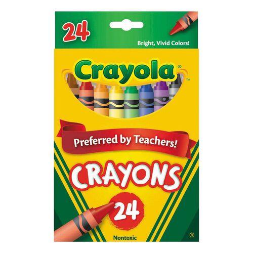 Crayola 24 Crayon Tuck Box