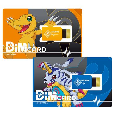 Bandai Digimon Dimcard Set Digimoadventure