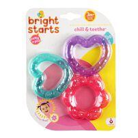 Bright Starts 粉色花花牙膠