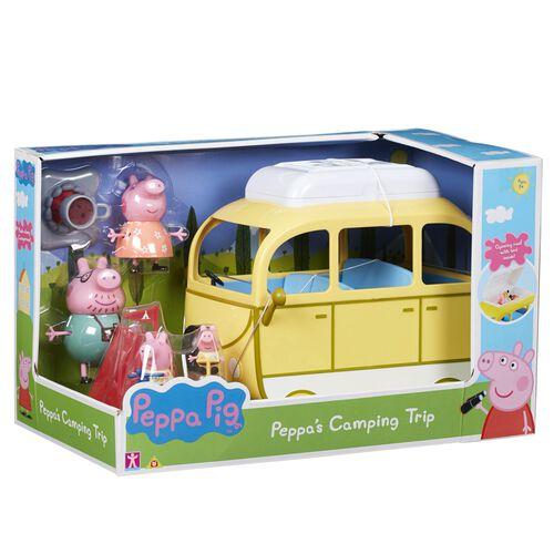 Peppa Pig粉紅豬小妹露營旅行組合
